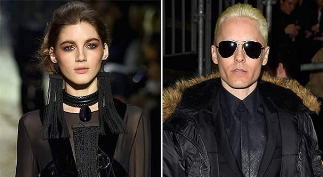 """Валерия Кауфман и Джаред Лето. Российская супермодель, которой рады на подиумах Chanel и Dolce&Gabbana, работает и живет в Нью-Йорке. Там она и встречается с Джаредом Лето – звездой """"Отряда самоубийц"""" и """"Александра""""."""
