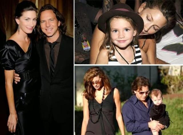 Джилл МакКормик. Красавица - супруга Эдди Веддера из Pearl Jam и мама двоих дочерей.