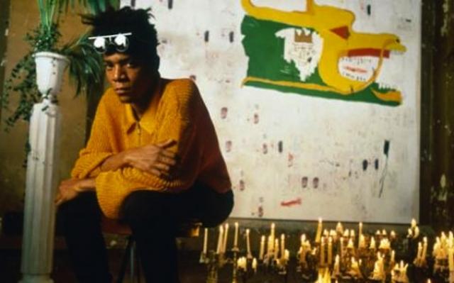 """Жан-Мишель Баския. """"Я не думаю об искусстве, когда я работаю. Я стараюсь думать о жизни"""". Прославился сначала как граффити-художник в Нью-Йорке, а затем, в 1980-х, как очень успешный неоэкспрессионист."""