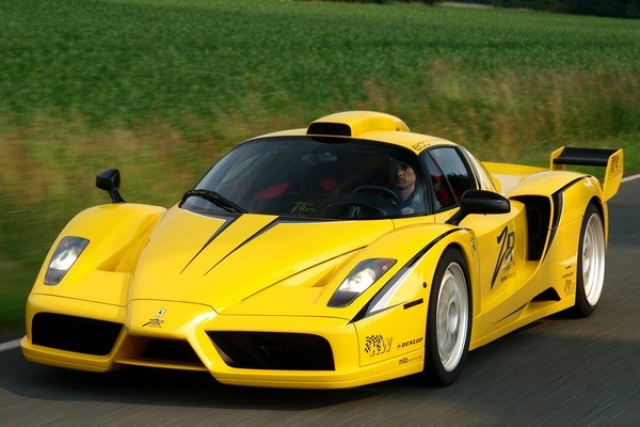 Ferrari Enzo XX Evolution Edo Competition - $2 000 000. Мощность двигателя авто - 840 л.с.