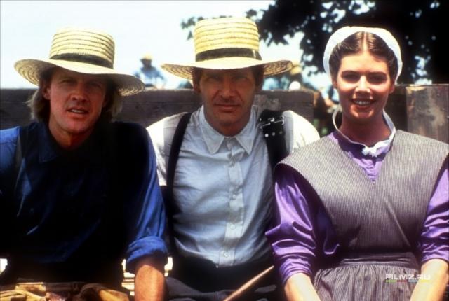 """Начиная с середины 80-х он стал светиться в кино, первым стал замечательный триллер """"Свидетель"""" с Харрисоном Фордом."""