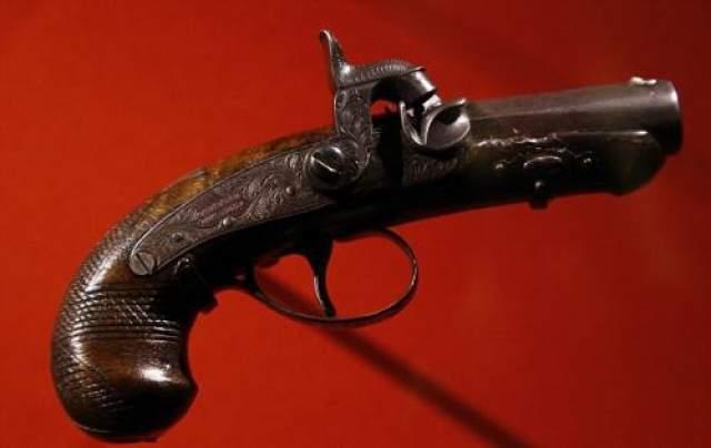 Пистолет, из которого был застрелен шестнадцатый президент США.