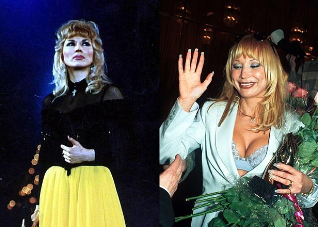 Маша Распутина. Такой была певица на заре своей карьеры.
