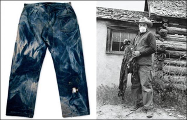 """Сама компания """"Леви Стросс"""" потратила $45 000 на аукционе в 2001 году, чтобы выкупить ей же произведенную, примерно в 1880 году, пару джинсов, которая была найдена в шахтерской деревне в штате Невада."""