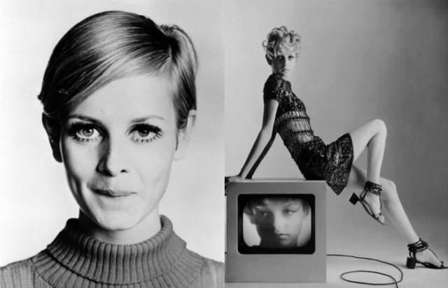 Твигги Твигги стала суперзвездой благодаря случаю- ее знаменитая стрижка была результатом эксперимента популярного в 60-х лондонского парикмахера.