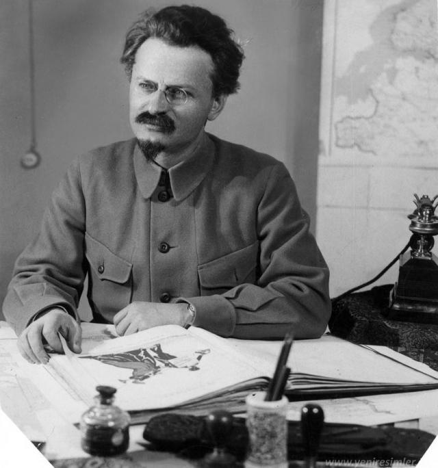 В 1928 году Лев Бронштейн был сослан в Алма-Ату.