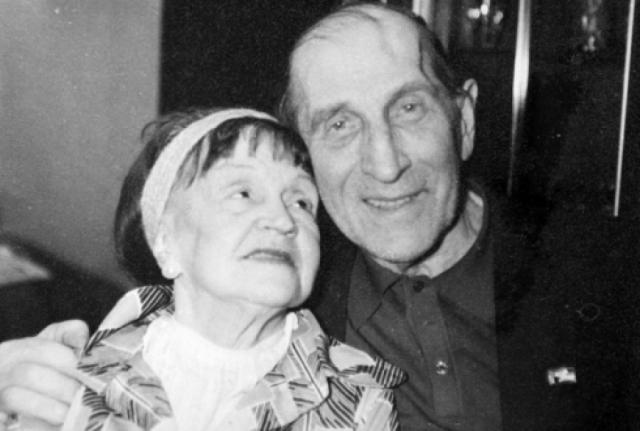Серьезным ударом для актера стала смерть его гражданской жены - писательницы Антонины Голубевой, с которой они много лет прожили вместе. Голубева была старше его на 13 лет.