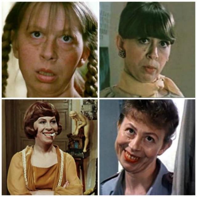 """Вера Ивлева. В кино актриса пришла в середине 60-х, ее самый первый эпизод в кино в фильме Евгения Карелова """"Дети Дон-Кихота"""" ."""