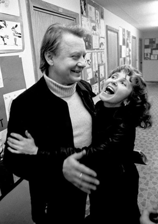 Олег Табаков и актриса Людмила Крылова были женаты более 30 лет.