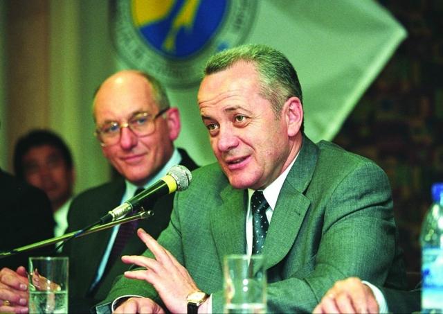 Игорь Фархутдинов (1950-2003) - губернатор Сахалинской области с 1995 года.