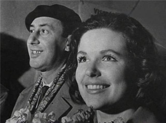 Второй женой режиссера стала молодая актриса Наталья Фатеева . В 1959 году она родила Басову сына Владимира.