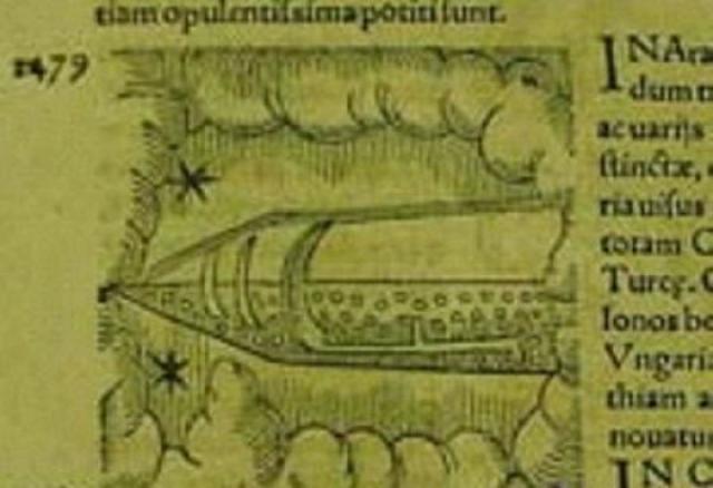 А эта книга описывает наблюдение НЛО в Арабии в 1479 году.
