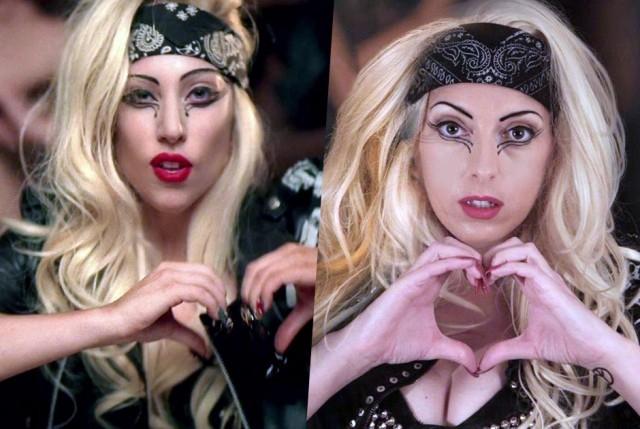 Донна Мария Трего - Леди Гага. 40-летняя Донна Мария Трего из Великобритании потратила более 100 тысяч долларов, чтобы добиться внешнего сходства с Леди Гагой.