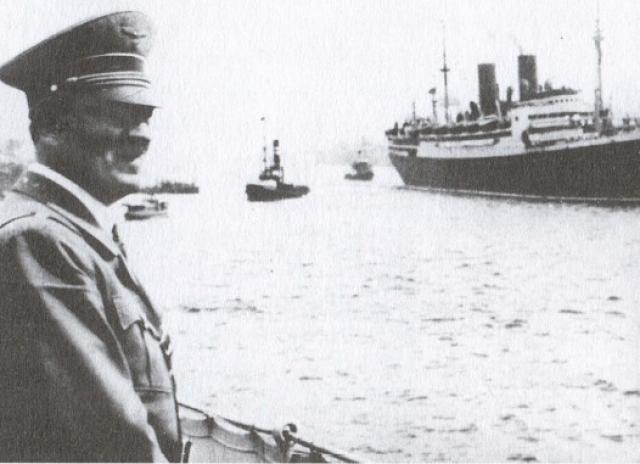 """Гитлер смирился с гибелью """"Штойбена"""", но перевозку раненых на подобных судах не прекратил."""
