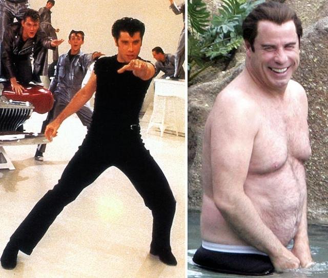 """Джон Траволта стал настоящим секс-символом после ролей в фильмах """"Бриолин"""", """"Криминальное чтиво"""", """"Без лица""""."""