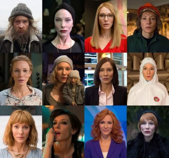 """Кейт Бланшетт, """"Манифесто"""" (2016). В этой картине австралийская актриса сыграла 13 (!) персонажей: бомжа, хореографа, галерейного куратора, телеведущую, рок-звезду и так далее."""