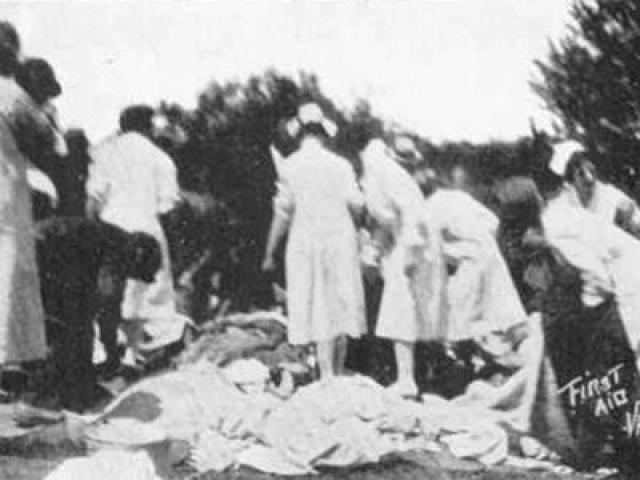 Утром 18 мая 1927 года Кехо сначала убил свою жену, ударив ее по голове тяжелым предметом, а затем взорвал ферму.