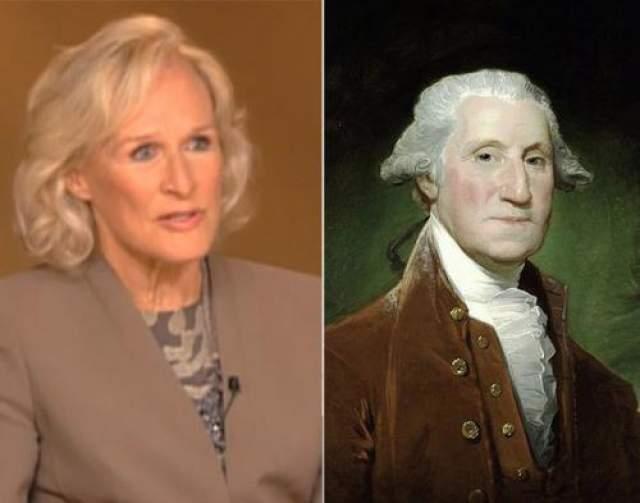 Гленн Клоуз и Джордж Вашингтон