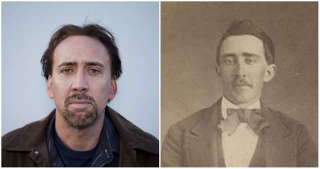 Николас Кейдж и мужчина из Теннесси, участник Гражданской войны