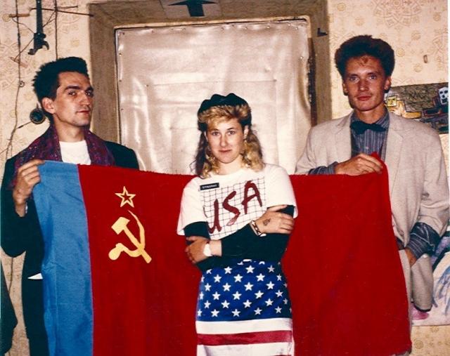 Тимур Новиков (художник), Джоанна Стингрей и Георгий Гурьянов