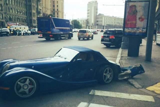 В 2016-м Куценко забрал ее из ремонта после ДТП в 2014-м.