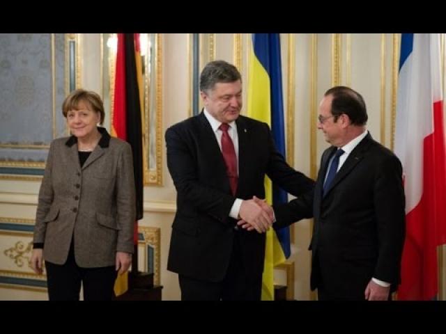 Встречи с главами других государств не обходятся для украинского президента без конфузов.