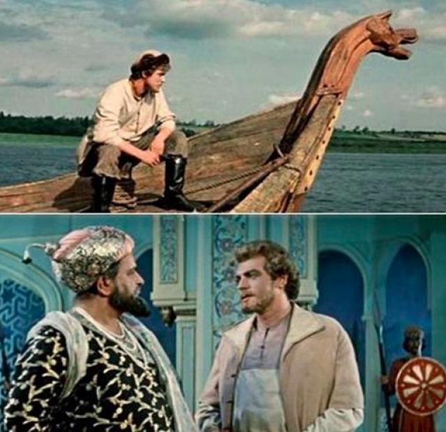 Эта кинолента стала первой совместной постановкой советских и индийских кинематографистов. Она посвящена Тверскому купцу Никитину, проложившему в 1466-1472 годах торговый путь в Индию.