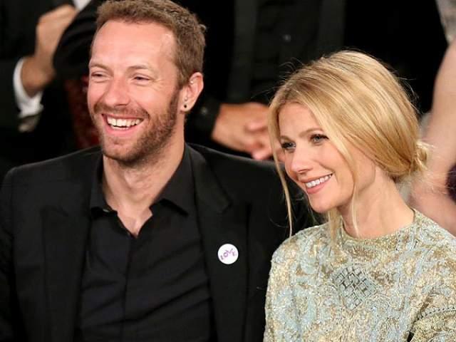 Гвинет Пэлтроу. Американская актриса вышла замуж за солиста группы Coldplay Криса Мартина в 2003 году.