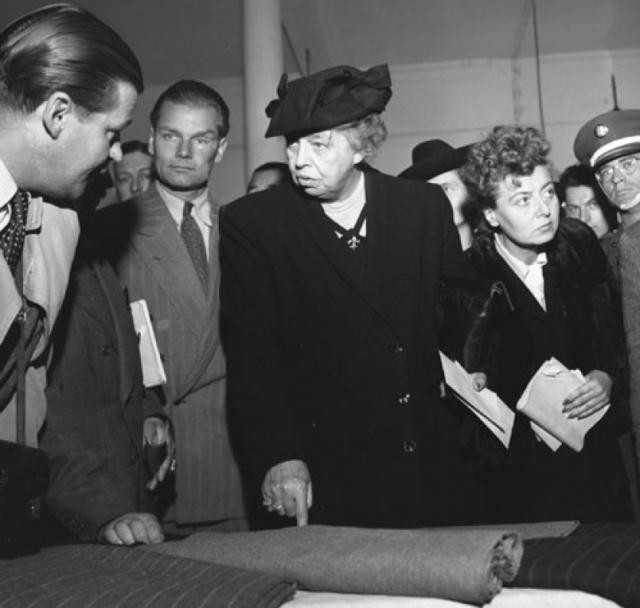 """Элеонора Рузвельт пять раз возглавляла рейтинг """"Лучшая первая леди государства"""" по мнению ученых-историков."""