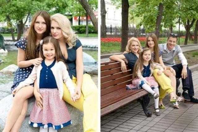 Таким образом, у актрисы с Древновым три совместных дочери - Серафима, Аграфена и Глафира. Старшая Полина была рождена в браке с актером Гошей Куценко.