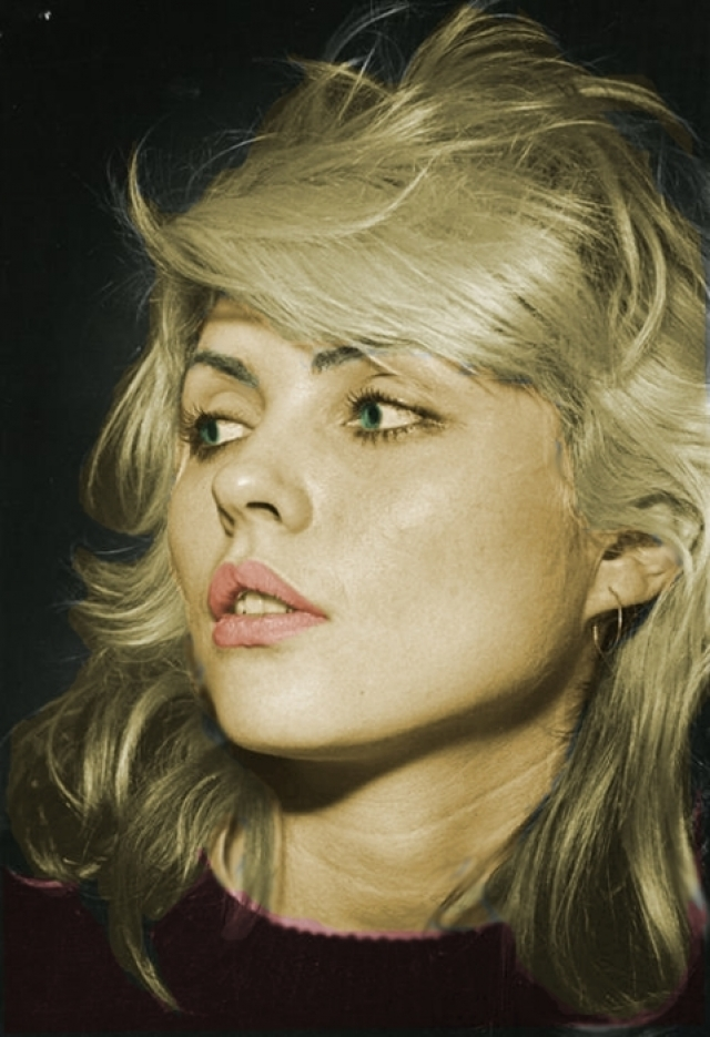 """Дебби Харри. Самая успешная американская рок-певица конца 70-х, автор песен и популярная киноактриса. Лидер группы """"Blondie"""", завоевавшей всемирную популярность в 1978 году."""