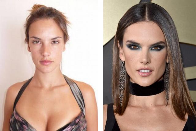 Алессандра Амброзио. Бразильская супермодель без макияжа похожа на обычную девушку.