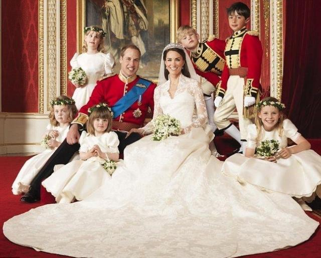 Свадьба британского принца Уильяма и Кейт Миддлтон состоялась 29 апреля 2011 года в Вестминстерском аббатстве в Лондоне. Кроме 1900 гостей за свадебной церемонией следило более двух миллиардов человек со всего мира.