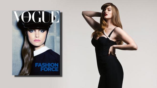 Главным достижением Робин считает обложку Vogue Australia – Лавли стала первой и пока единственной моделью plus size, которая украсила собой обложку этого журнала за 52 года. Также девушка снималась для Dazed & Confused, Elle, Cosmopolitan и еще множества глянцевых изданий.