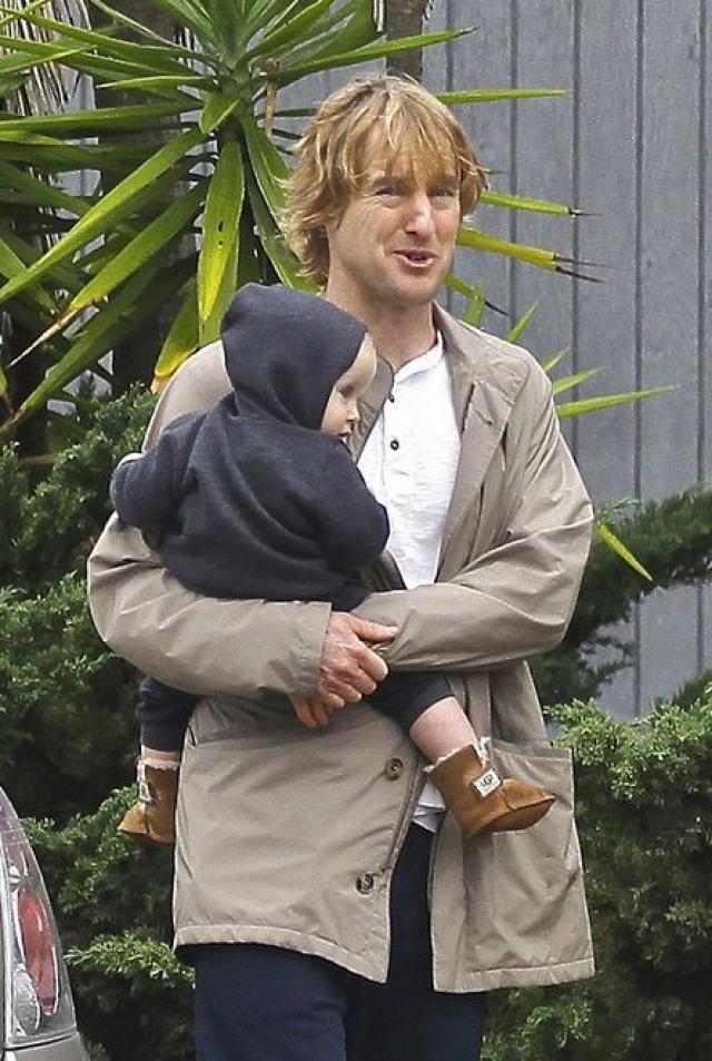 Оуэн Уилсон. Актер впервые стал отцом в январе 2011 года, когда его подруга Джейд Дуэлл родила сына.