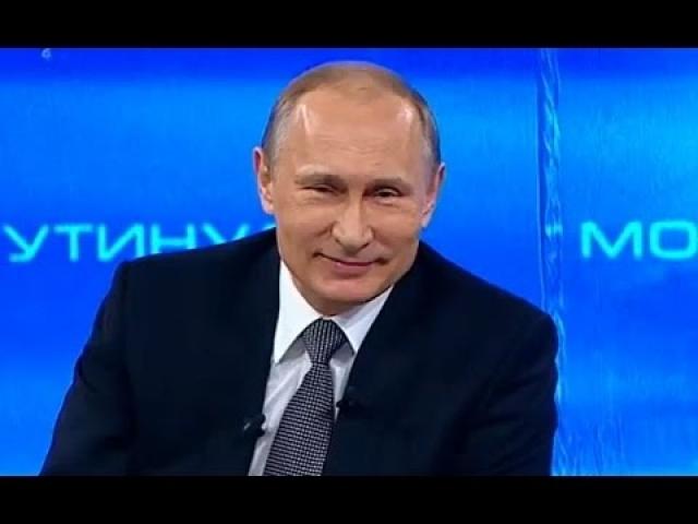 """Владимир Путин : """"Если человека все устраивает, то он полный идиот. Здорового человека в нормальной памяти не может всегда и все устраивать""""."""