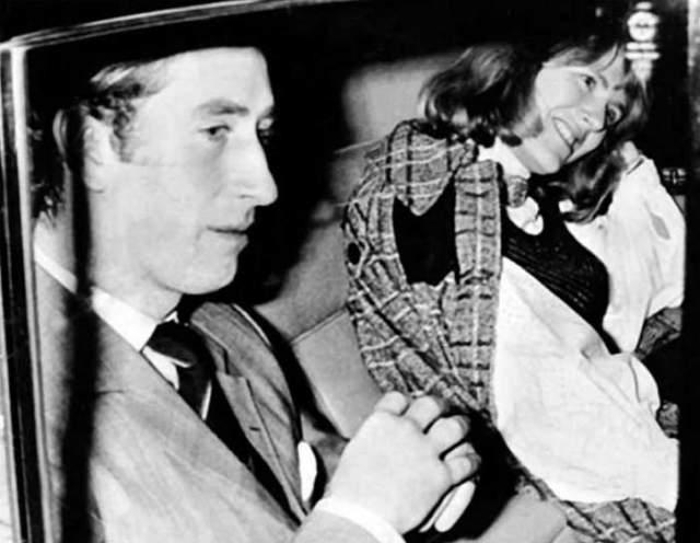 Принц Уэльский и Камилла Розмари Шанд. Во время знакомства с Чарльзом девушка была несвободна.
