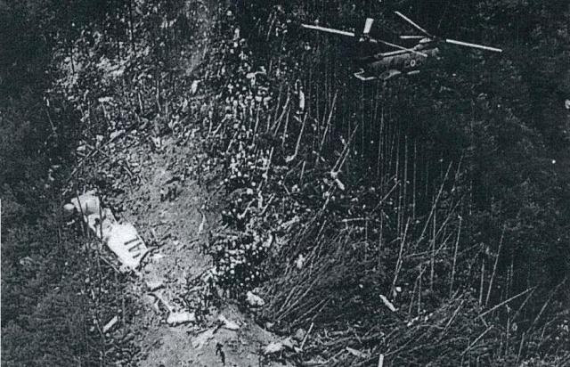 Когда самолет поравнялся с горой Фудзияма, пилоты попытались повести его на снижение. Однако скорость резко выросла, и чтобы ее уменьшить, пилотам пришлось аварийно выпустить шасси.