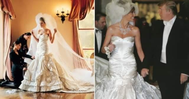Через пять лет Меланья стала женой будущего кандидата в президенты (в 2005 году), - несмотря на то, что он старше нее на 24 года. Впрочем, Меланья выходила замуж не юной: на момент свадьбы ей было 34 года. И для нее это был первый брак.