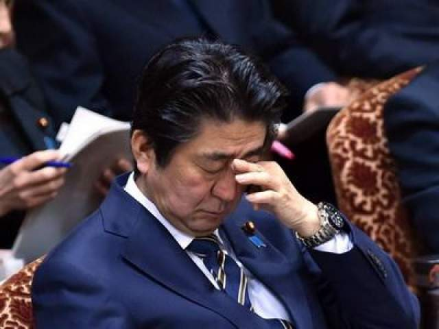И снова премьер-министр Шинзо Абе, и опять заседание бюджетного комитета, только на этот раз 2015 год (2 февраля). Видимо, обсуждение бюджета Японии можно прописывать как снотворное.