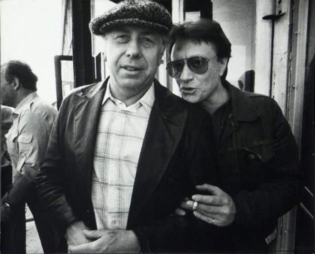 Анатолий Папанов и Андрей Миронов с Театром сатиры побывали в городах Италии.