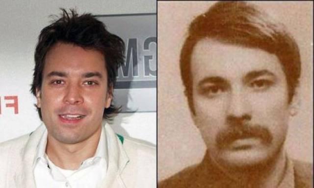 Джимми Феллон и его двойник - революционер Махир Каян.