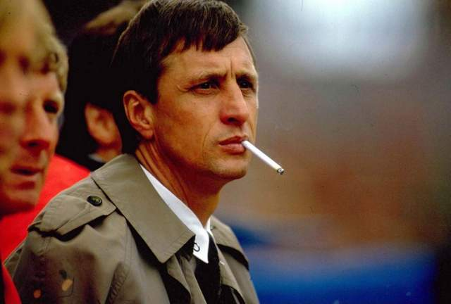 Йохан Кройф. 1947-2016. Нидерланды. Футболист.