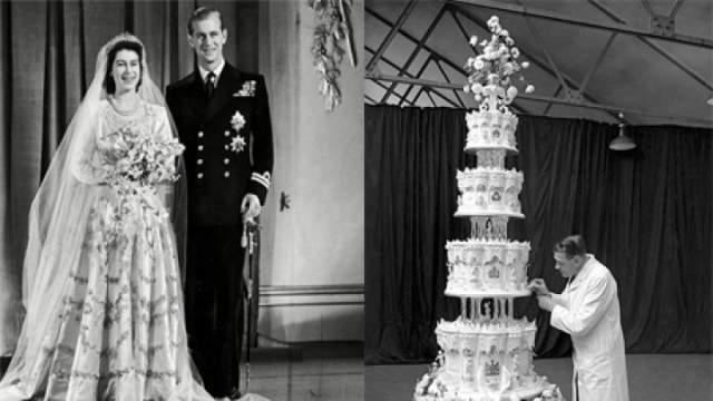 Лот представила дама из Восточного Сассекса, чей отец присутствовал на приёме по случаю бракосочетания. Фруктовое лакомство ушло с молотка за 500 фунтов стерлингов при примерной оценке в 300-500 фунтов.
