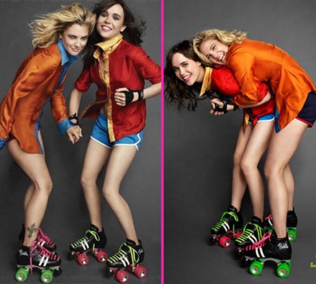 Сами девушки говорят, что у них просто очень много общего - независимый характер, своеобразное чувство юмора и даже стиль в одежде.