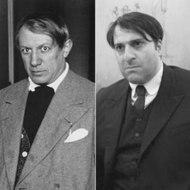 """Пабло Пикассо и Омид Джалили , """"Модильяни""""."""