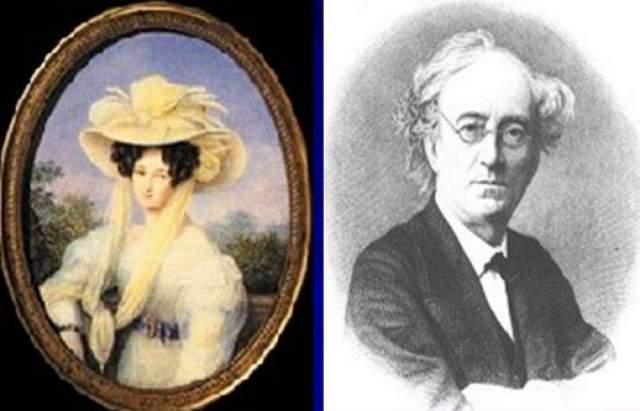 Федор Иванович Тютчев. Поэт был женат дважды, причем оба раза на немках. Первая жена Элеонора Петерсон, урожденная графиня Ботмер, родила ему троих дочерей, но скончалась в довольно молодом возрасте.