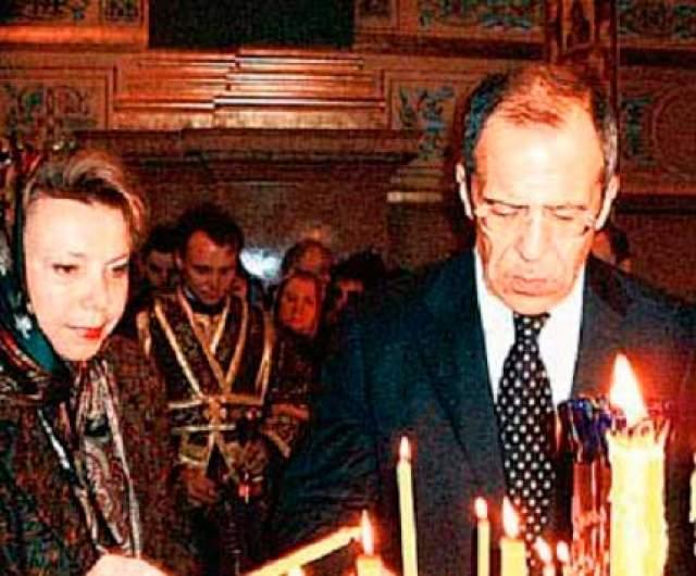 Мария Лаврова. Жена Сергея Лаврова, главы МИД России. У известного своим острым умом и хорошей репутацией главы российского МИД не очень популярная супруга.