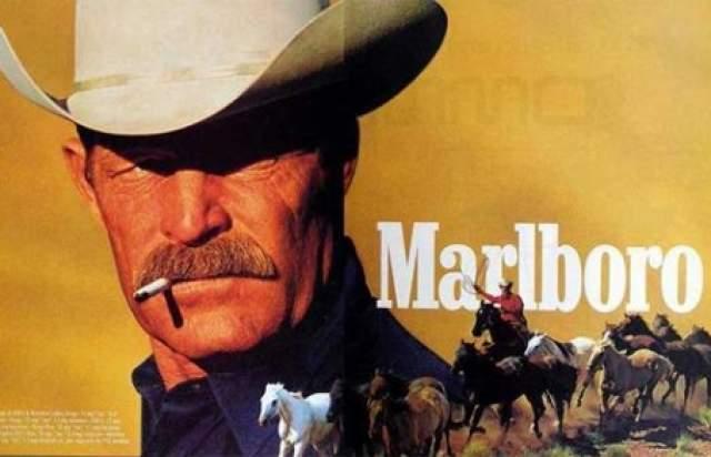 Даррелл Уинфилд, ковбой Marlboro. Даррелл был одним из немногих реальных ковбоев, которые снялись для рекламы Marlboro.