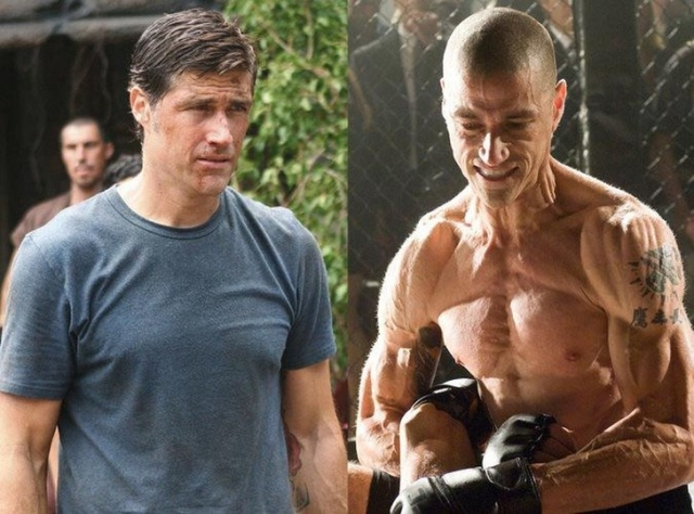 """Мэттью Фокс. Для роли убийцы в фильме """"Я, Алекс Кросс"""" актеру пришлось похудеть на 18 кг."""